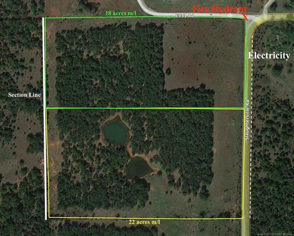 000000 Slaughterville Road, Macomb, OK 74852