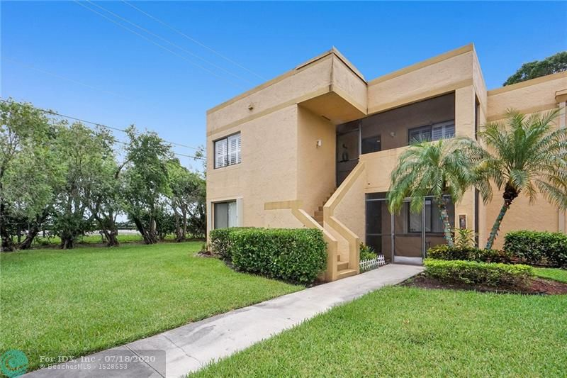 Fabulous, rarely available 3 BDR/2 BTH corner unit in the exclusive city of Weston, sought after for its A+ schools, parks, and a great lifestyle. The unit is on the 2nd floor and features a split layout, remodeled kitchen w/granite countertops & stainless steel appliances, a spacious living/dining area, plantation shutters, and shades, laminate/tile flooring, updated bathrooms including the shower/tub glass doors, good-size bedrooms, a walk-in master BDR closet, and stackable washer/dryer. Parking is allowed for up to 3 cars w/one assigned space & plenty of guest parking. From the balcony, a relaxing view of a small lake gives the final touch to this great unit. There are no restrictions on rental after the sale. Access to exclusive Town Center and its excellent amenities.