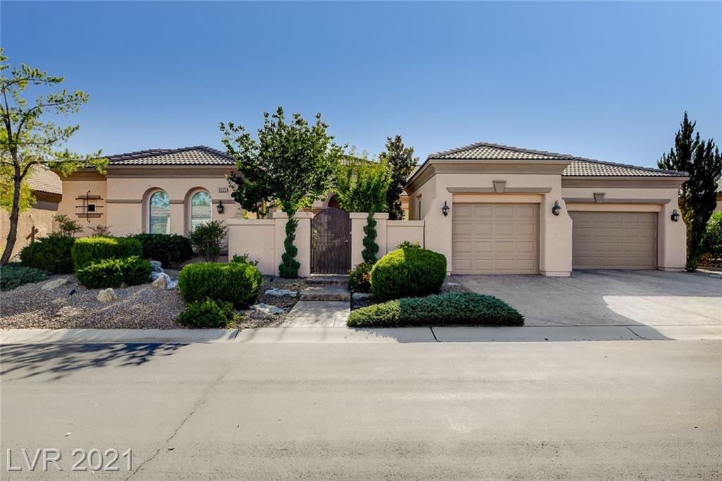 AWESOME CUL-DE-SAC LOCATION W/ FABULOUS MOUNTAIN AND GOLF COURSE VIEWS, 3 FAIRWAYS DEEP, GIVING THAT SPACIOUS LOOK & FEEL, RELAXING SPA W/ CASCADING WATER TO ENJOY THE SIGHTS, '8120', THE LARGEST MODEL BOASTING AN ENTERTAINING FLOOR PLAN, APPROX 3217/SF, 3 BED W/ CASITA, 4 BATH, LIVING/DINING/GREAT RMS, KITCHEN W/ STAINLESS APPLIANCES, GRANITE, CHERRY CABINETRY, FIREPLACE, WOOD FLOORS, COFFERED CEILINGS, ALARM, GATED COURTYARD, LUSH LANDSCAPING, FULLY FENCED REAR, FAUX SOD, LARGE LOT, STAMPED CONCRETE, 3 CAR GARAGE, PLUS MUCH MORE!