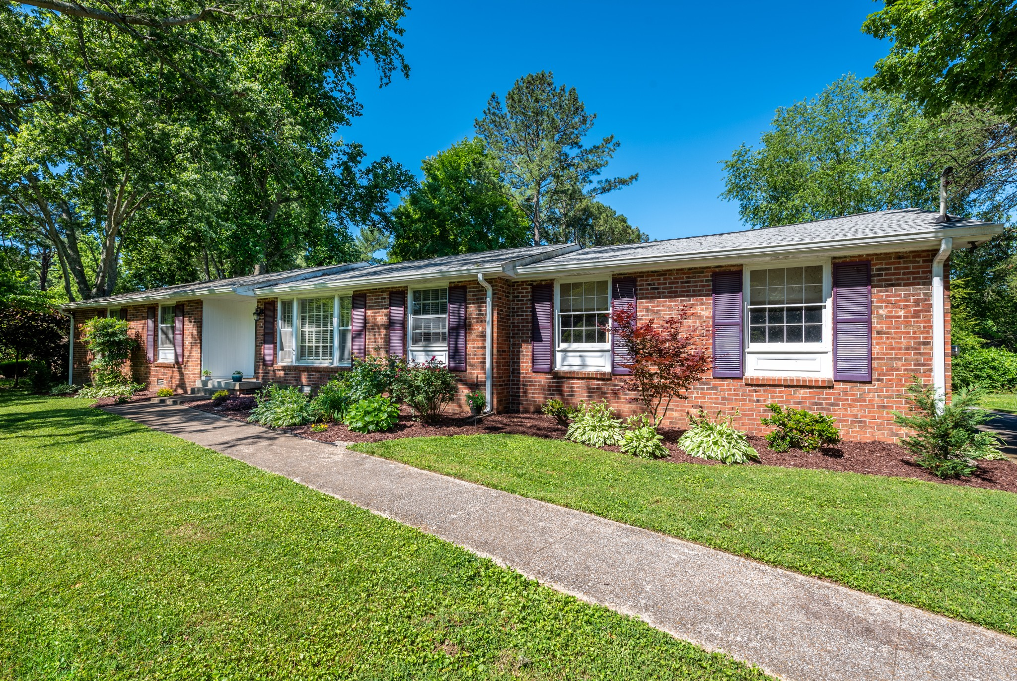 Gorgeous, nearly completely remodeled home in Quiet neighborhood minutes to downtown Franklin * One of the best lots in Rebel Meadows* Large, open concept living & dining room * Large screened-in back porch * 2-car garage * Newer roof * NO HOA * ALL appliances remain *