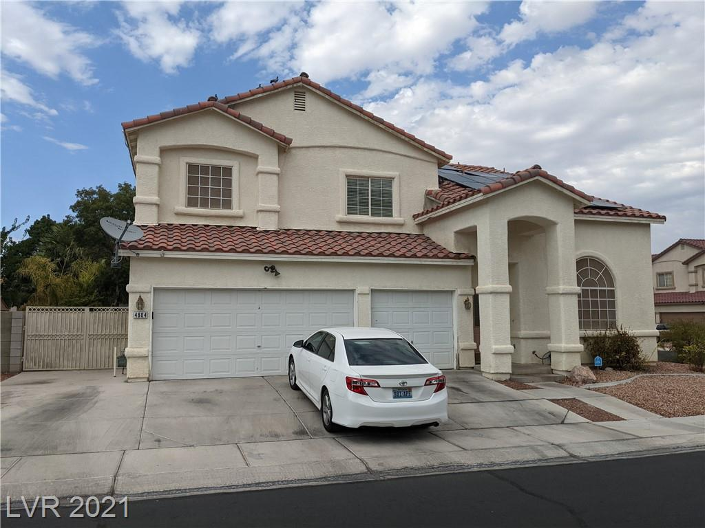 Large spacious corner lot home with RV parking in a gated community. Solar panels installed on home. Full bath and bedoom downstairs. Large covered patio great for entertaining. Large community park with basketball court. Come make this property your next home.