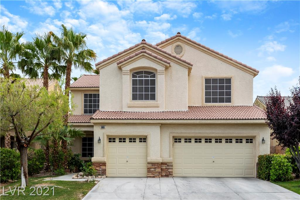 BEAUTIFUL OPEN FLOOR PLAN WITH 4 BEDROOMS & 3 FULL BATHS*3,096 SQ FT*BED AND BATH DOWNSTAIRS*FIREPLACE*LOFT WITH BILLIARDS TABLE PLUS ADDITIONAL SEATING AREA*LAUNDRY CHUTE ON 2ND FLOOR*PRIVATE PRIMARY BALCONY*SURROUND SOUND*SECURITY CAMERAS*FULLY LANDSCAPED FRONT & BACKYARD WITH PARTIAL GRASS AND DESERT LANDSCAPE***POOL!!!*FIRE PIT*3 CAR GARAGE WITH STORAGE*GATED COMMUNITY*READY FOR YOUR BUYERS!