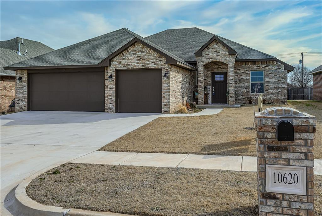 """SOUTH FORK Fabulous Home: 3Bed + Study + 2Bath + 3Car ~ Builder Greg """"BEST"""" Quality Throughout ~ ULTIMATE Open Concept with Kitchen & Living Room Sharing Space ~ STUNNING Living Room with Tall Ceiling & Gas FP ~ STELLAR Chef's Kitchen boasts Floor to Ceiling Cabinets adorned with SHAKER STYLE DOORS providing AMAZING Storage, a Walk-in Pantry, Stainless Steel Appliances, Island, & QUARTZ Countertops ~ GORGEOUS Flooring ~ Inviting MASTER ENSUITE complete with JETTED TUB, Separate Custom TILED SHOWER, & Double Vanity ~ Fun Floorplan : Master Walk-In Closet adjoins to Laundry Room ~ ENERGY EFFICIENCIES include Low E Windows, 95% Efficient Furnace, PLUS Extra Insulation ~ FABULOUS Community offers POOL, Cabana, & is within Walking Distance to Elementary School ~ BRAND NEW INTERMEDIATE SCHOOL is Under Construction ~ Easy Access to NW Expressway & Kilpatrick Turnpike ~ Location, Quality, & Community ~ Welcome HOME!"""