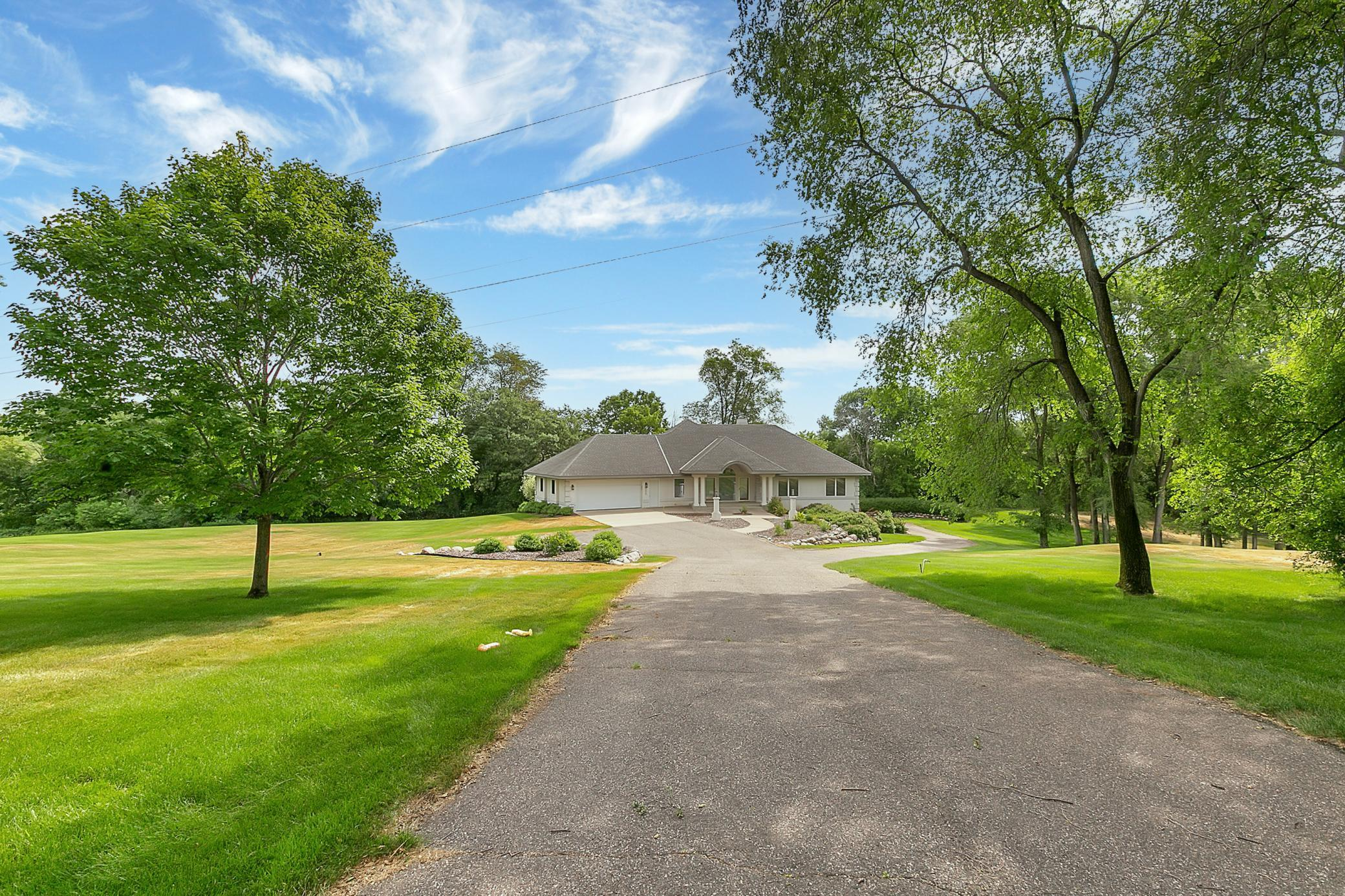 Enjoy this recently updated home as it offers great views and is located near a trail system. The 3.45 acres provides a feeling of the country, while being in town. This home will not disappoint!