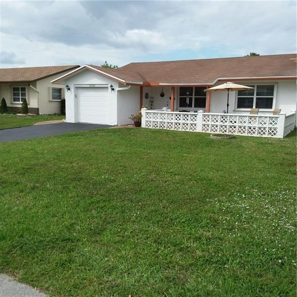 GREAT OPPORTUNITY TO OWN A NICE SOLID HOME IN THE MIDDLE OF TAMARAC. ALL AGE COMMUNITY. THIS 2 BEDROOM 2 BATH HOME HAS LOVELY WOOD FLOORS, PLANTATION SHUTTERS AND AN INSIDE LAUNDRY ROOM. THERE IS A LARGE PATIO AND PLENTY OF GRASS IN THE BACKYARD. IT HAS ACCORDIAN SHUTTERS. THE HOME IS IN NEED UP UPDATING BUT THE BONES ARE SOLID. THE LOCATION IS GREAT. IT IS IN A VERY NICE, QUIET FAMILY NEIGHBORHOOD. THERE IS A COMMUNITY POOL WITHIN WALKING DISTANCE. THIS HOME IS PRICED TO SELL AND WON'T LAST LONG. PLEASE CALL LISTING AGENT TO VIEW. PLEASE FOLLOW CDC GUIDELINES & WEAR MASKS. PLEASE PROVIDE A DU APPROVAL WITH ALL OFFERS! THANK YOU FOR SHOWING.