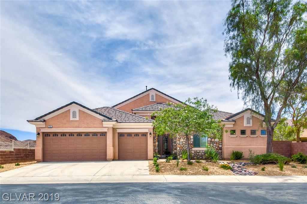 Gorgeous 3 beds, 3 bath, over 3,000 sq ft home w/grand entry way & elevated lot w/desert views. Media nich w/ fire place & picture window overlooking Black Mountain & Sloan Preserve. Kitchen features sit down breakfast bar and Kitchen-Aid Smart Oven w/ Powered Attachments. Spacious guest bedrooms w/ Jack & Jill shared bath. Huge master bed w/master bay window hitch & en-suite spa bath. Large private desert backyard features custom patio w/ view.