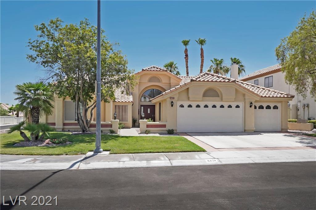 OPEN HOUSE 7/24/21 1.00pm-4.00pm. Absolutely stunning one story, corner lot home with triple garage in the extremely sought after location of South Shores on the outskirts of Summerlin. Within close proximity to several lakes, local amenities and has excellent transport links making this is an ideal location. Since 2019 the property has been completely remodeled including upgrades such as new flooring throughout, new granite in kitchen, bathrooms and fireplaces. The sellers have replaced the water softener, reverse osmosis and put in a new 3 ton AC unit. The home was repainted on the interior and exterior as well as having the landscaping and sprinkler system replaced too. This property shows real pride of ownership and will not last long.