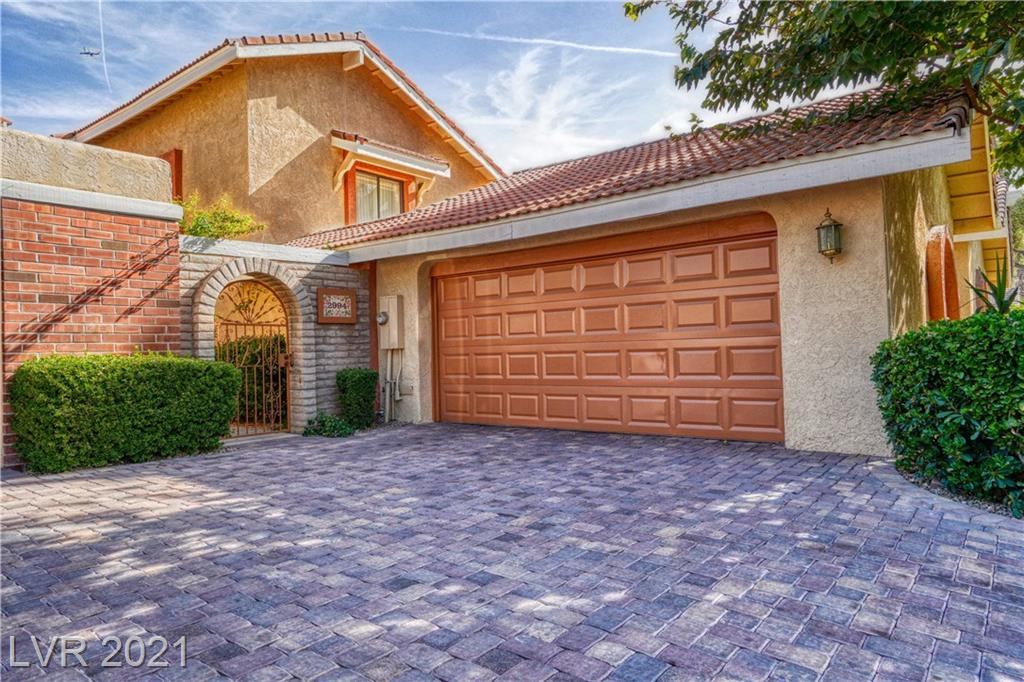 Here is your chance to own a part of Las Vegas History. This 2746 sqft 2 story home is located in the historic Las Vegas Country Club, surrounded by mature landscaping throughout the community.  . The home has 2 bedrooms with one located down stairs and the other upstairs with its own bathroom and custom walk in closet.  .