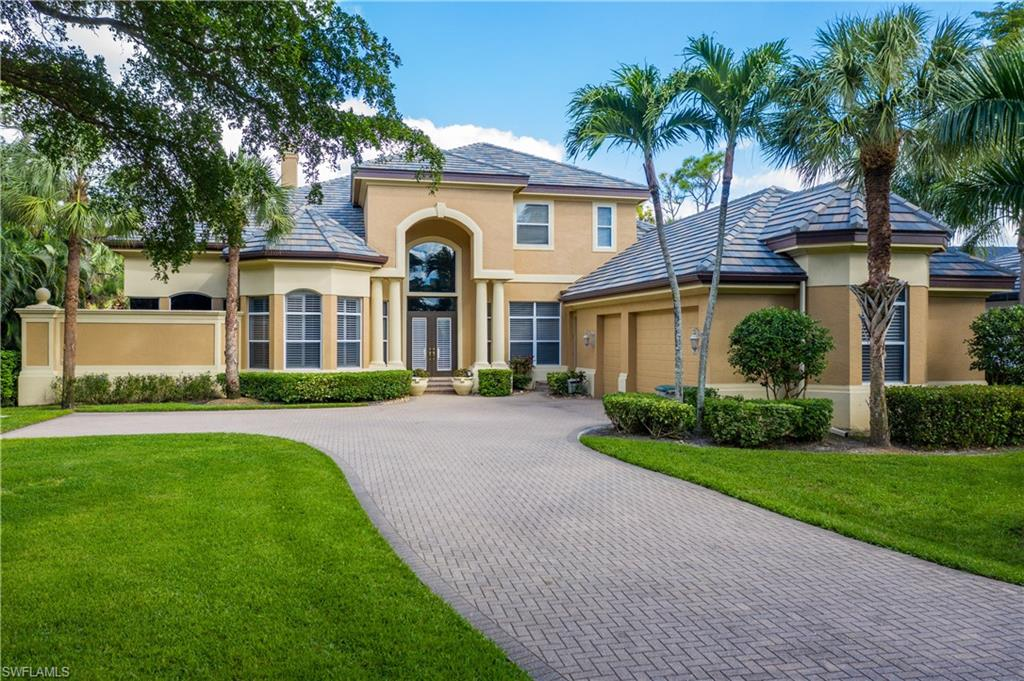 Wonderful opportunity to own a custom built home in the prestigious Spring Ridge section of Bonita Bay. This elegant & spacious estate home, built for extended families or guests has an abundance of upgrades including a BRAND NEW ROOF !!!! This majestic 7 Bedroom, 6.5 bath, 3 car garage offers guest suites, office space, and retreat areas perfect for living and hosting.  The first floor includes a formal living room with fireplace, which flows into formal dining room.  luxurious and well appointed master suite, plus 2 additional guest suites & den/office. Enjoy your beautifully appointed gourmet kitchen, with built in panel appliances and walk in pantry,  perfect for entertaining. casual family room with fully pocketing sliding doors that open onto the expansive outdoor living area complete with outdoor kitchen, pool & spa.  Bask in the sun & enjoy the long golf course views. upstairs is a perfect retreat for guests with 4 additional bedrooms, recreation room with home theatre and a balcony with golf course views. Bonita bay has 5 golf courses, private beach, tennis & fitness centers, marina with direct access to the gulf of Mexico and miles of walking and biking paths.