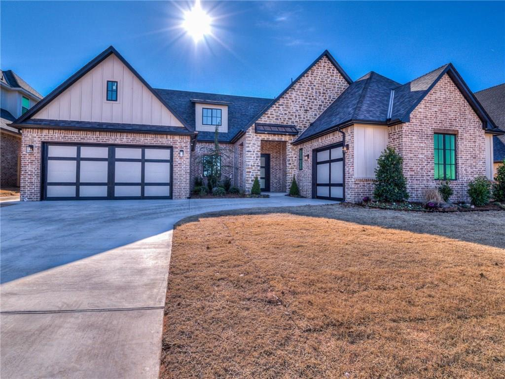 """This new construction home offers all four bedrooms downstairs! The home boasts a trendy neutral pallet that will allow you to incorporate your own personal design and style! Incredible hardwood floors lead you passed a study/flex room and into the spacious living area with a rustic stone fireplace. The designers kitchen has a beautiful island with quartz counter tops, custom cabinets, designer backsplash and high end stainless steal appliances. Also included will be a 64"""" Frigidaire Side by Side Freezer/Refrigerator. Built-in wine rack along with space for a beverage cooler will be perfect for entertaining your guests. The master suite includes his & her vanities, large walk-in closet and a """"wet room"""" shower/tub combo space. Three other spacious bedrooms are downstairs and offer a jack and jill bath along with a large walk in closet in one of them. Large utility room with lots of storage space. Great game room upstairs with full bath. Completion by mid December."""