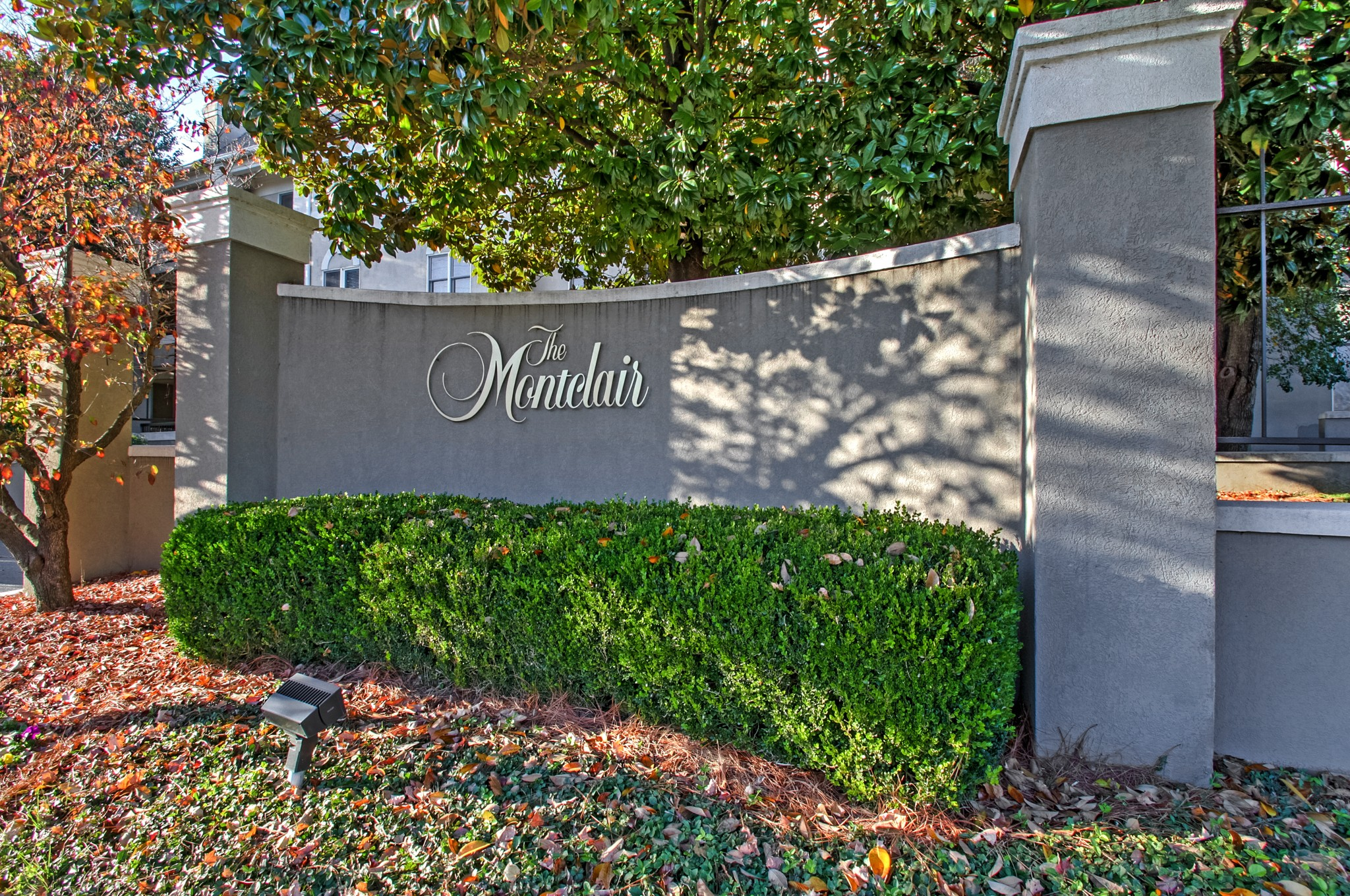 Location, location! One level living in the heart of West End. TOP FLOOR + END UNIT. Gas Fireplace. Owner suite w/Oversized L-shaped walk-in closet and safe. Under cabinet lighting.Double vanity and jacuzzi* Second bedroom has 2 closets. Separate Laundry/w side by side washer/dryer. Private balcony w/storage. Gated garage w/2 assigned spaces. Elevator. 9' ceilings. Fire sprinkler system. Extra Storage in garage. Courtyard. No showings til 12/19. Check out www.MaggieOdle.com