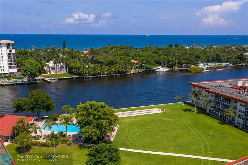 "Direct Intracoastal unit with abounding views of water, boats & wildlife area. High end impact windows & 4 section patio doors. Interior boasts cool tiling in living areas & low pile tweed berber in bedrooms. Quality finishing touches of crown molding and chair rails enhance the rooms. Remodeled master bath & vanity. Building has just completed elevator renovation. Community offers three deep water canals with dockage. Two docks have been recently renovated with new pilings, electric & water. (third work in progress) All work paid for. Maint. includes ""full"" reserves, TV service & internet. Property is presently leased for one year. 
