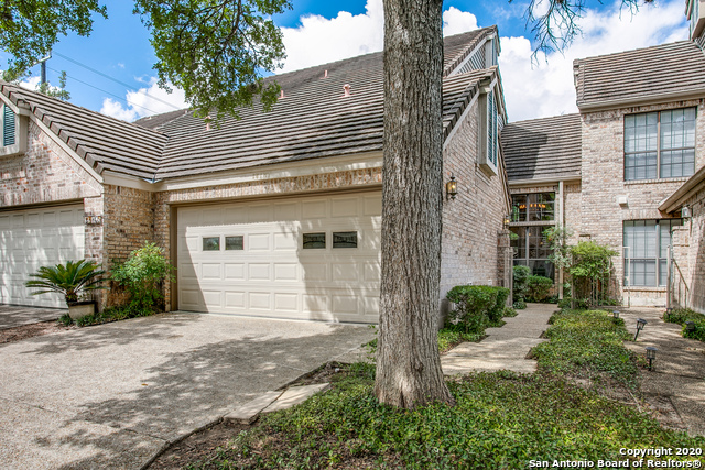 This Exquisite townhome is located in the highly desirable Woods of Shavano Community! This home Exudes PRIDE of OWNERSHIP...is adorned by a canopy of trees & a well-manicured lawn that welcomes you to an open ~ versatile floor plan featuring a large living room, separate dining, flex space that can be used as either 3rd bedroom/study, quaint kitchen, spacious Master Suite, generous guest bedrooms & a SECLUDED backyard perfect for all occasions! Quick access to I-10 & 1604 make commuting easy...not to mention how close you are to Dining ~ Shopping & Entertainment. Please take the Virtual Tour that features an Interactive Floorplan & Immerse yourself...Welcome Home!!!