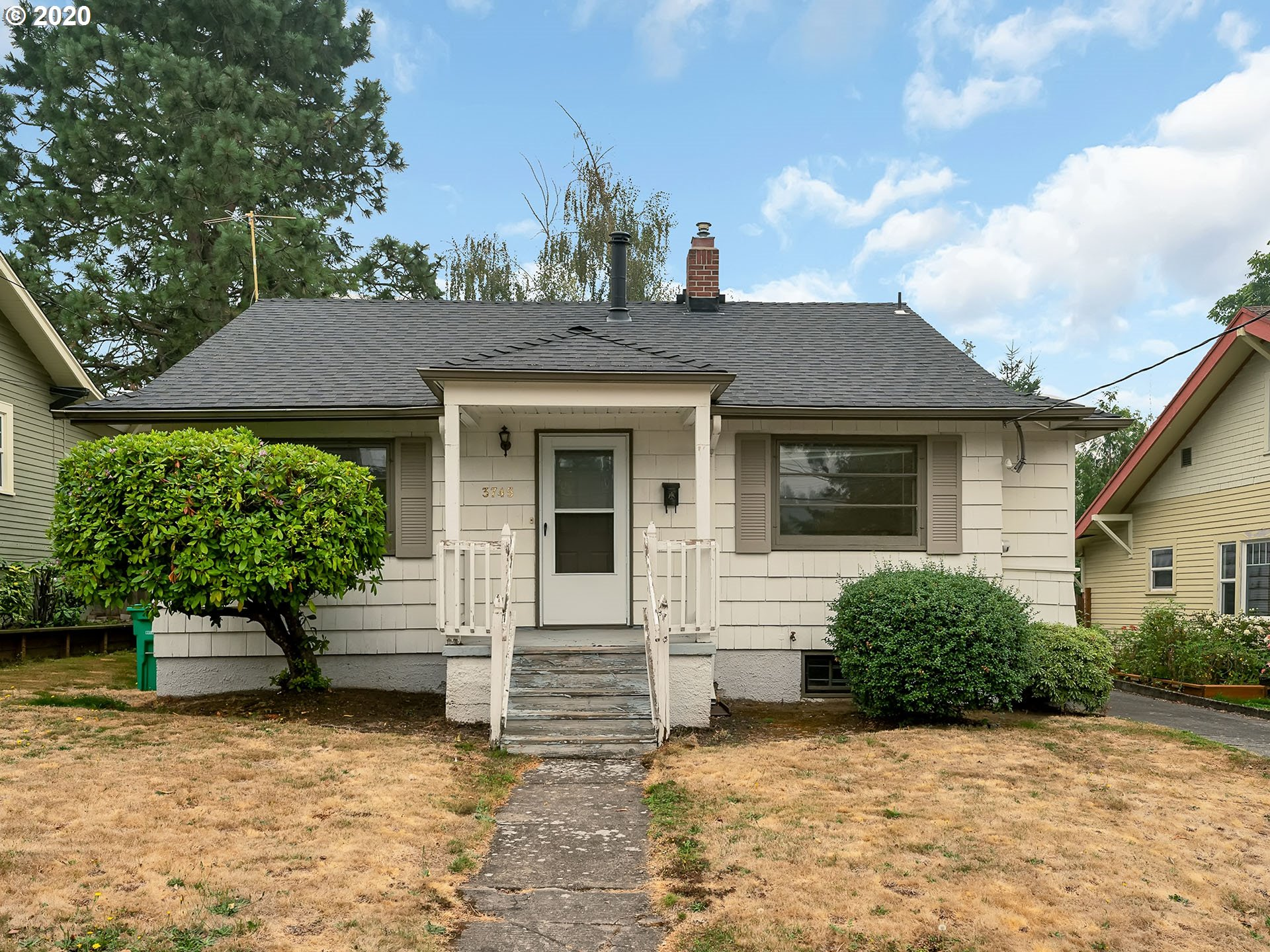 Vintage 1925 Cottage on a beautiful street. Great Starter or Rental! Needs love but good roof, furnace, water heater, everything works, vintage kitchen with eating area, storm windows, detached garage, great back yard, If your looking for a sweat equity project check this one out. Builders; flat lot R2.5 zoning.