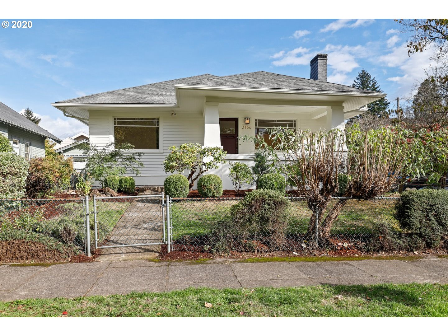 Stunning Rose City Bungalow! Front porch welcomes you home to this gorgeously updated light filled home. Lg Kitchen offers plenty of counter space, subway tile back splash, quartz counters, pantry, eating nook, all new stainless steel appliances, BI microwave & gas stove! There are 3 spacious bedrms on main level & an updated bathrm. Basement offers 2 additional bedrms, updated bathrm w/step in shower, large storage rm W exterior door and potential to be finished as well! [Home Energy Score = 4. HES Report at https://rpt.greenbuildingregistry.com/hes/OR10067722]
