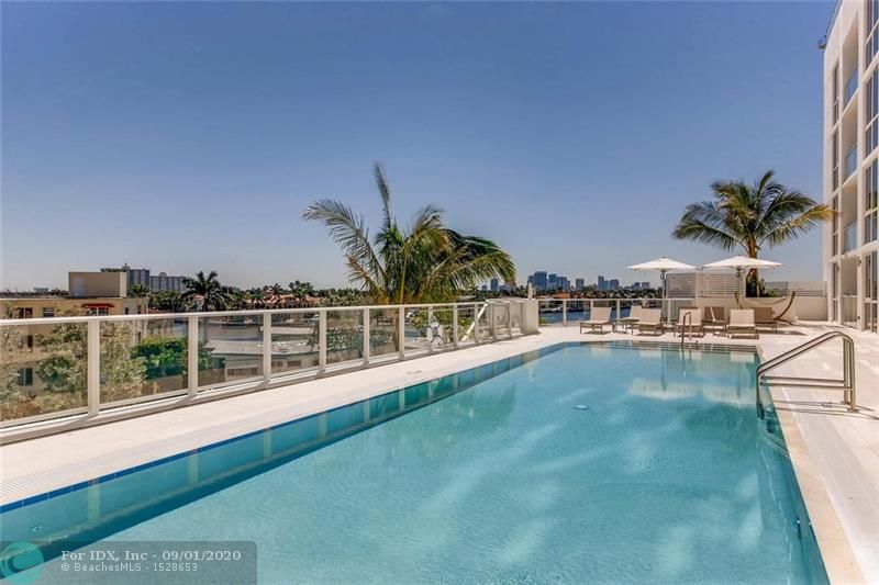 Just listed and the best value on the market at the recently built Gale Residences Fort Lauderdale Beach. Unit 405 offers an open and bright split floor plan featuring two bedrooms, two bathrooms + Den. Inside you will find modern premium finishes, tile, and marble flooring, coupled with 9-foot floor to ceiling windows. Unit 405 offers a fabulous poolside terrace with pool access overlooking the Intracoastal waterway. After a day of white sands and turquoise waters, relax on your balcony, and catch an incredible sunset falling over downtown fort Lauderdale. Amenities include a pool, BBQ area, theater room, fitness center, sauna, club room with kitchen, dining, and billiard lounge, 24-hour valet parking, and more — pet-friendly condo with no rental restrictions. Virtual tours are available!
