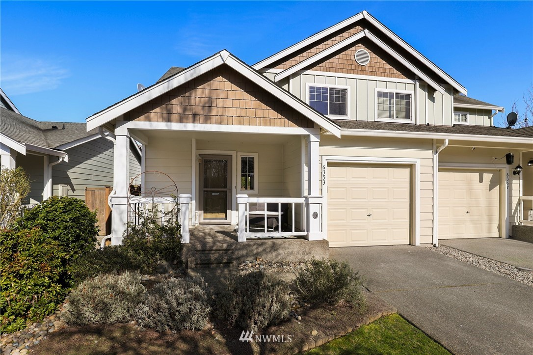 WELCOME to your new home!!! This 2 bedroom 2.25 bathroom beauty is located in the popular Radiance community. Walk up to the inviting front porch with views of the greenbelt across the street. Spacious open concept floor plan with Vaulted ceilings, gas FP in living room, kitchen with all appliances included! Both bedrooms upstairs feature a private bathroom suite. The laundry room upstairs with washer and dryer plus a built in office area! Single car garage is attached. A FULLY FENCED backyard features a concrete patio, grassy yard and garden shed, for all of your entertaining needs. Great location with community parks and trails, close to freeways, transit and more!