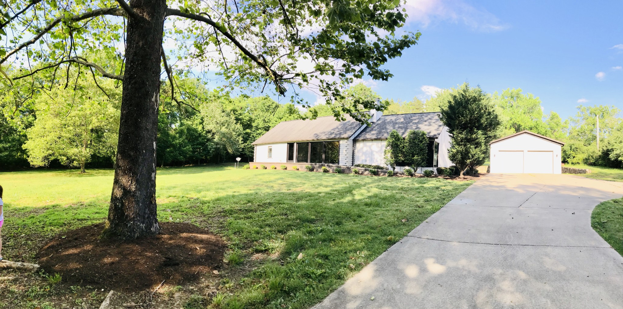 Rare gem hidden in a peaceful cul de sac on Ragsdale Road in Brentwood! Completely renovated! Truly one of a kind, modern meets rustic home on a serene property w/stained concrete floors,travertine counter tops, 2 master walk in closets, floating vanity, over sized open master shower, master fireplace, floor to ceiling windows th-out. 24' ceilings, Viking frdg/premium appl, 3rd bed is a loft. Lots of storage! Amazing home!