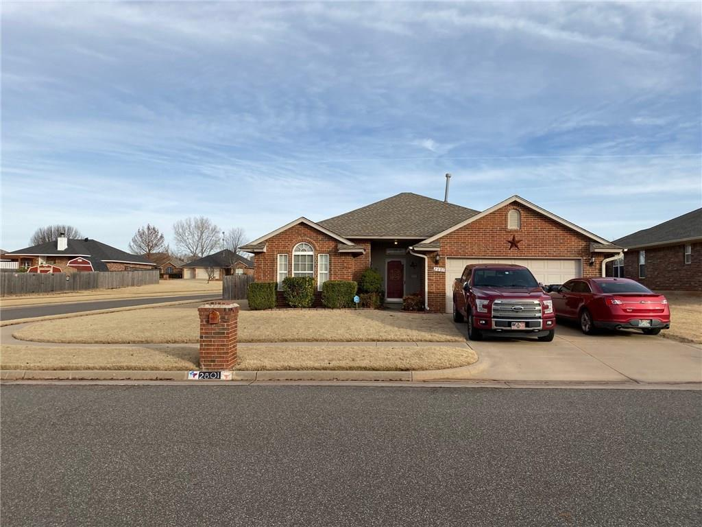 This is a great home very well maintained on a large corner lot in a great school district. Close to Tinker and all major highways. Don't miss seeing this home it wont last long.
