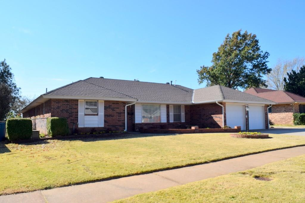 This home has so many possibilities of living arrangements, with it featuring two full kitchens and two separate entrances from the exterior, and it is located directly a block north of O.C.U. campus on Memorial Rd. The home features an in ground storm shelter, covered back porch, two full kitchens, formal dining, dinette area, lots of storage throughout, fresh landscaping in the front yard, two walk in closets, enclosed back porch, larger bedrooms, fireplace, 3 full baths, and indoor laundry area with space for an extra fridge. The home is located within minutes of I-35, Kilpatrick Turnpike and Broadway Extension for easy commutes. Come see the possibilities!