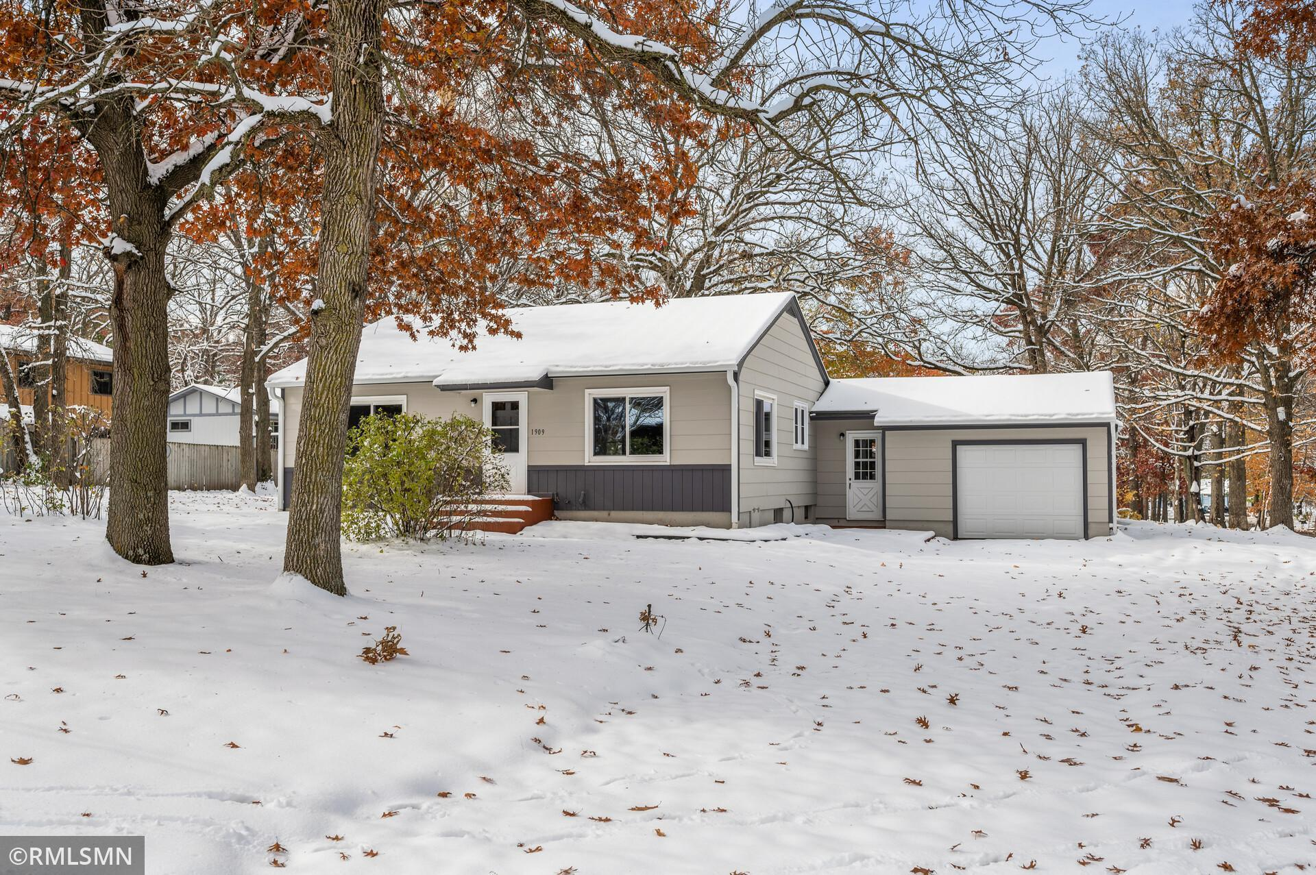 Beautifully remodeled one story home nestled on a mature, nearly half acre lot! This home features the ambiance of newness with a new roof, new furnace/ AC, custom paint, new carpet/ floor covering/ refinished hardwoods, new SS appliances, a vast amounts of storage space in the basement and so much more! Bask in natural light indoors or relish exterior living amidst the surrounding yard space all year long! This property is close to a number of city parks, highway access, Boulder Ridge Golf Club, St. Cloud State University, St. Cloud VA Health Care System, Quarry Park Scientific and Natural Area and is local to the plethora of amenities offered in Downtown St. Cloud! This inviting home is both clean, and turn-key. It is an absolute must!