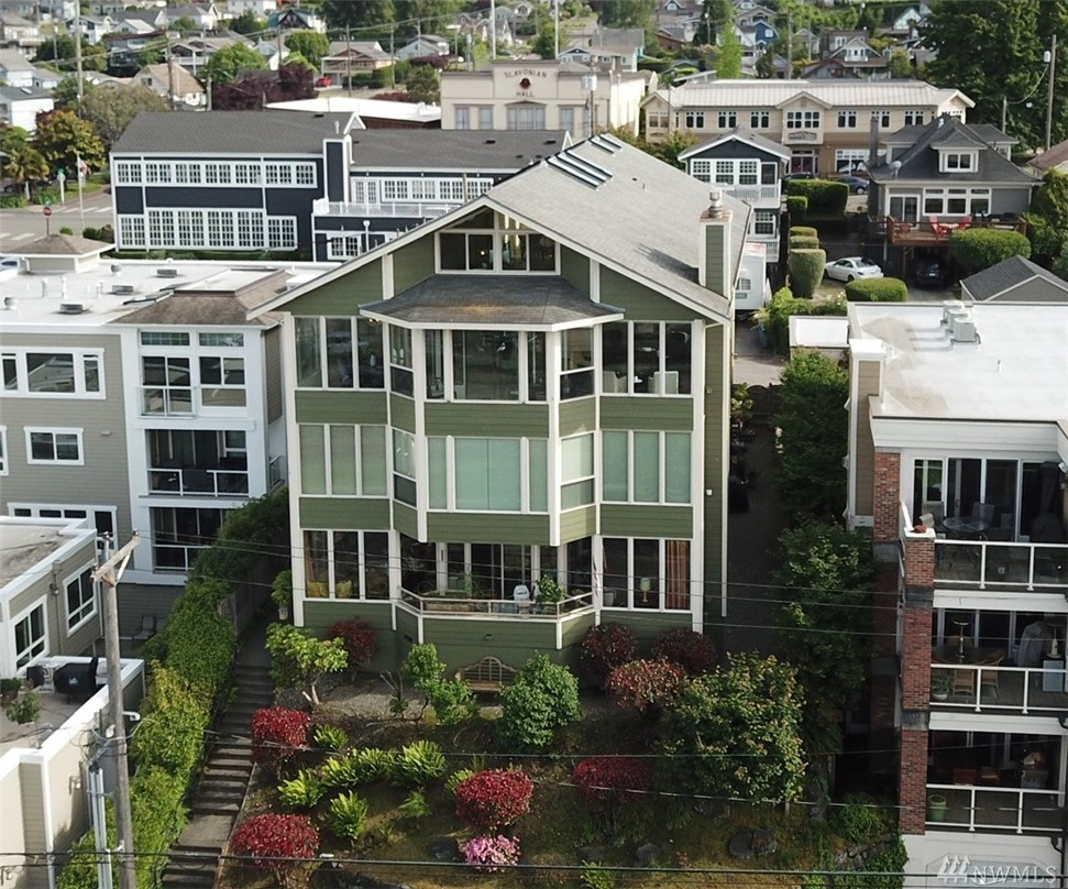 WOW! Views from nearly every window! One of Tacoma's most remarkable condos, in the heart of Old Town with sweeping views of the waterfront. Best views for Freedom Fair Fireworks, Tall Ships & Lighted Boat Parade! Light & bright with wide hallways, high ceilings & expansive spaces. Top full-floor, 3 beds, 2 remodeled baths w/ a loft & sun room. Baths have beautiful tile work & custom lighting. Direct elevator access. Stone's throw to restaurants & waterfront. Make sure to watch Matterport video!