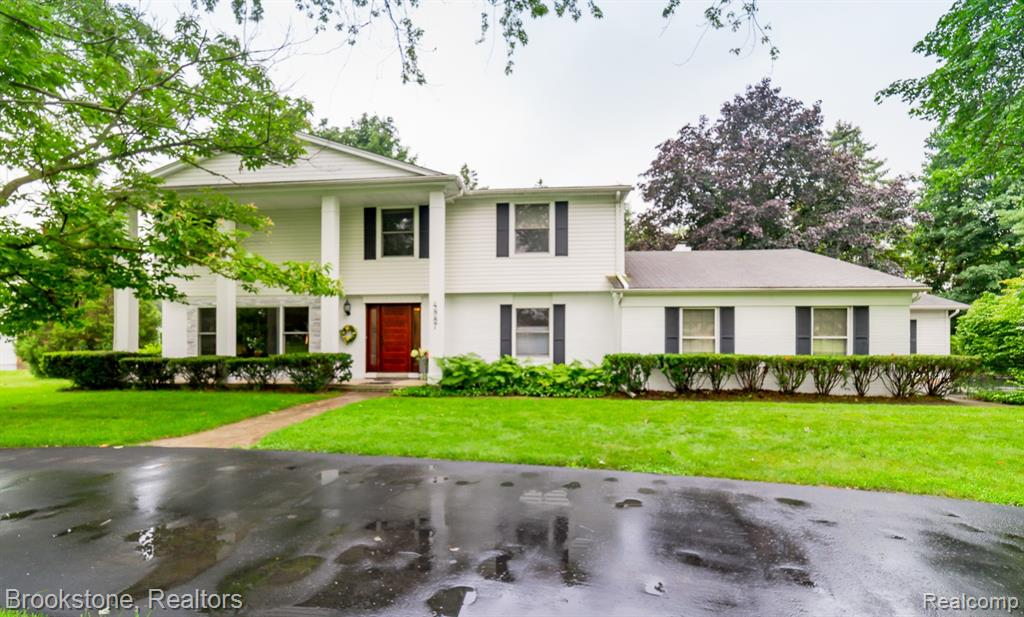 Back on market due to buyer unable to secure financing. Appraised at 495,000.00! Pride of ownership is evident in this gorgeous, sprawling colonial located in award-winning Birmingham schools. Gorgeous house for entertaining with recently remodeled kitchen, large pressed concrete patio and newly redone huge wrap around driveway (2018). Many spaces for everyone in the family with work at home office and finished basement... not to mention extremely rare and huge mechanic's 3.5 car garage. Wonderful updates include newer Pella windows throughout,  lav (2018), shared bath (2019), and master bath (2020) complete with hook up for additional laundry in master. Home is ready for you to move in and enjoy!