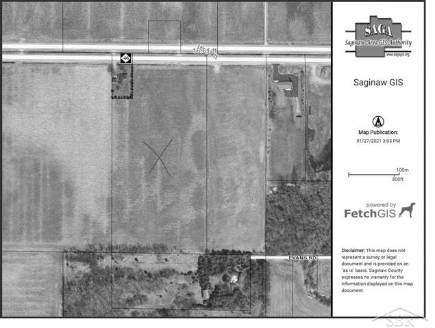 19 tiled acres with water, sewer, gas and electric available.