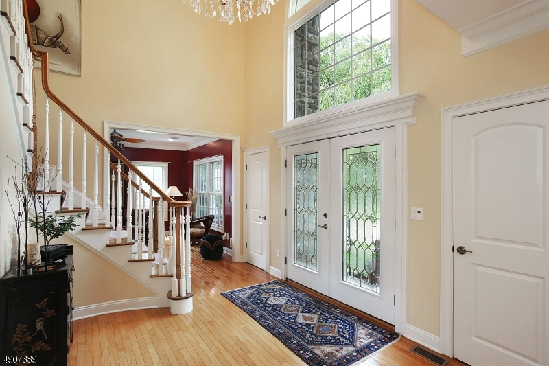 """Exceptional,12Rm/5Bedrm/41/2 bath """"4494""""sqft CH ECHO LAKE ESTATES Colonial. Rare opportunity to enjoy Echo Lake Park's bike/hiking trails & river just outside your door. Close 2 NYC train&bus. The luxurious no expense spared multi-tiered property includes lush gardens,Anthony & Sylvan heated pool, waterfall, jacuzzi and the tranquil seclusion of a classic gazebo.The exterior space is matched by a move-in ready high end home with custome upgrades throughout. (See """"MEDIA"""" here in listing to review all upgrades & amenities). Walk out lower level includes Rec Room & In-law/Au Pair Suite with full bathroom, large bedroom and fireplace. Location of home offers EZ access to shopping, entertainment and restaurants of Westfield, Millburn & Summit."""