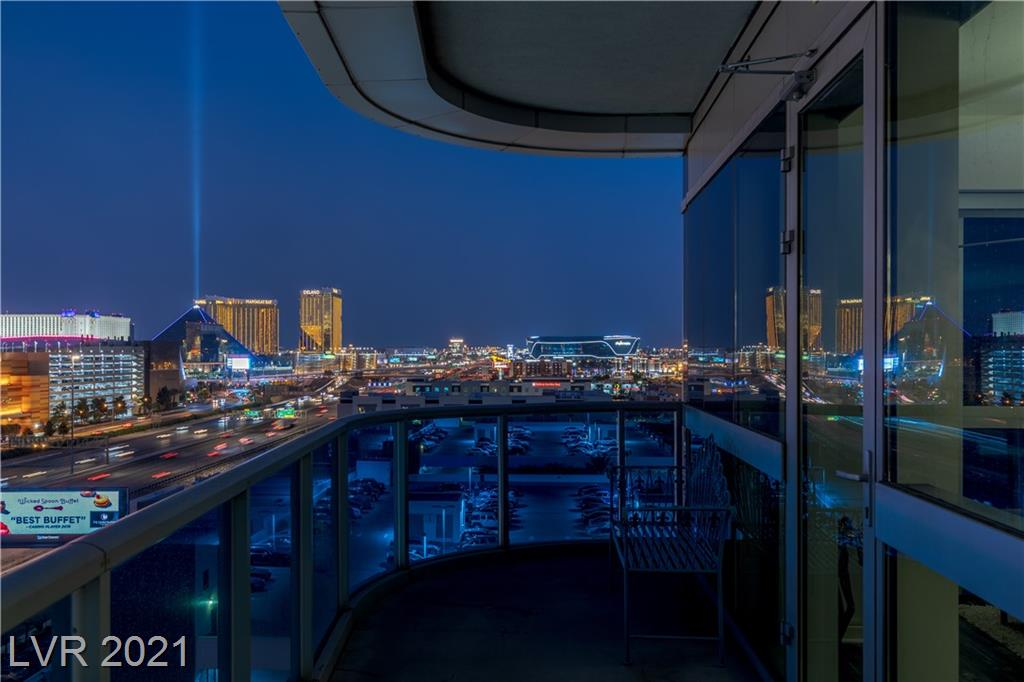 Views of the Las Vegas Strip, City Center, T-Mobile Arena, Allegiant Stadium & Mountains from this highly sought after Corner Unit floorplan!  Enormous Terrace provides the Very Best Las Vegas Strip, City Center, T-Mobile Arena, Allegiant Stadium & Mountain Views The Martin has to Offer!   The Kitchen presents Granite Counter Tops, Stainless Steel Premium Appliances and the Island seats four comfortably!  FULLY FURNISHED with Chris Riggs art on the walls remain with the unit! Amenities include Personal Concierge, Pool and Spa with Cabanas, Indoor Hot Tub, Steam Room, Private Massage Rooms, 24 Fitness Center, Security, Dog Park, Library, Garden Lounge, Yoga Studio, Main Floor Delivery, Complimentary Valet and The Martin's Courtesy Escalade available to fulfill your lifestyle aspirations!