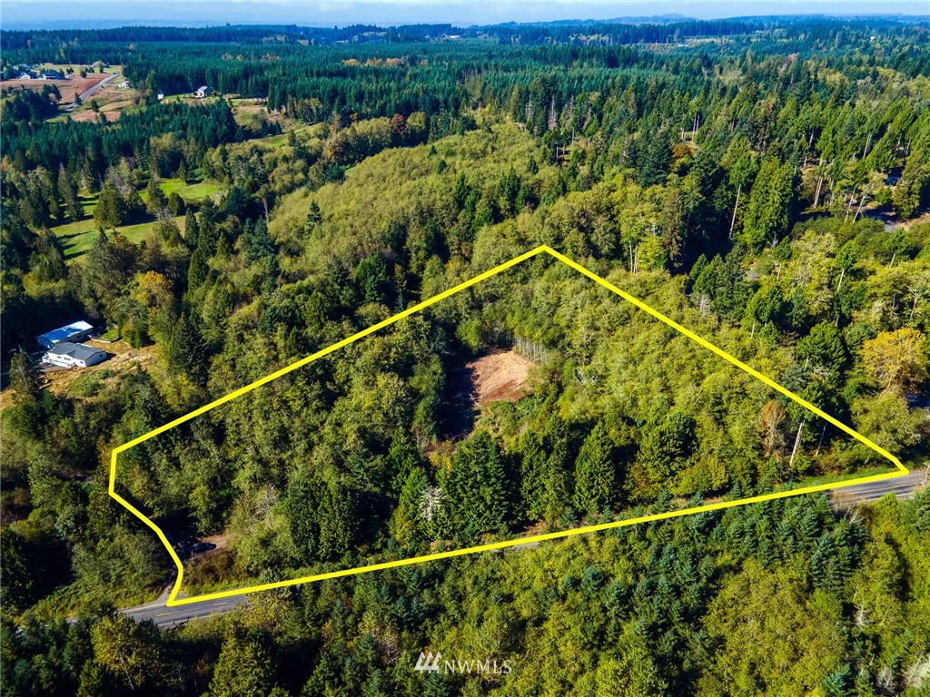 Secluded property in Chehalis! Breathtaking views of Mt. Rainier, Mt. St Helens and Mt. Adams possible with light clearing. Not far from I-5 or downtown Chehalis but far enough away from the rush!  Fir, maple, alder, and cedar trees. Road is cut in with thick base. Drilled well and 2 bedroom septic installed. Electrical wires in conduit to property. Partially cleared homesite strategically placed for mountain views. CCR's are out dated and manufactured homes may be allowed - buyer to verify.