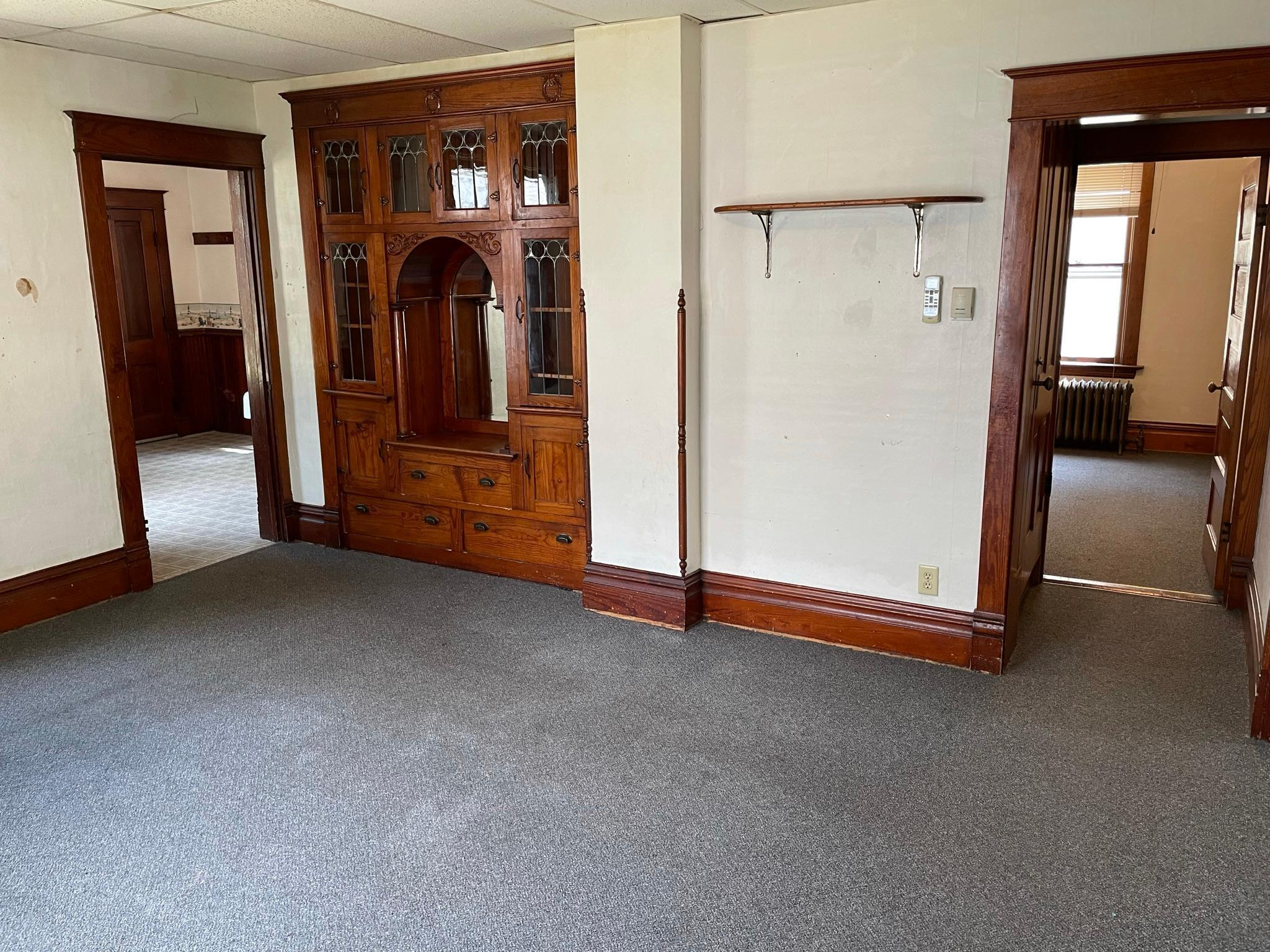 Multiple possibilities exist with this 2 bed, 2 bath classic Paynesville home! The property currently serves as an over/under rental and could continue to be used for this function. Additionally, a buyer could rent the upper level while living on the main floor or occupy the entire home. A third bedroom could be easily added by installing a door to the lower level sitting room. The property also features a detached single garage with additional space for storage. Come take a look!
