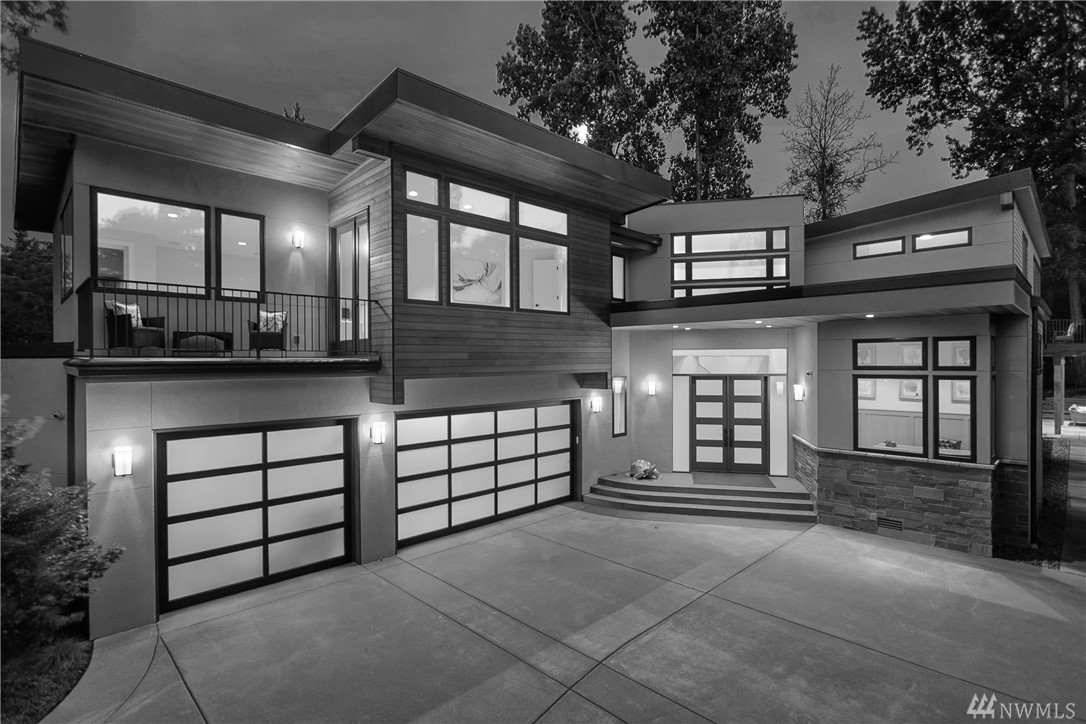 NW Contemporary Masterpiece in the heart of Medina. First time on the market. No detail was missed in designing this exquisite home. High end custom finishes throughout. Ideally located in one of the most sough after areas on the Eastside with some of the highest ranking schools.  Just blocks from the Overlake Golf & CC, and the beautiful Well's Nursery. All this just minutes from world class shopping and dining in Downtown Bellevue.