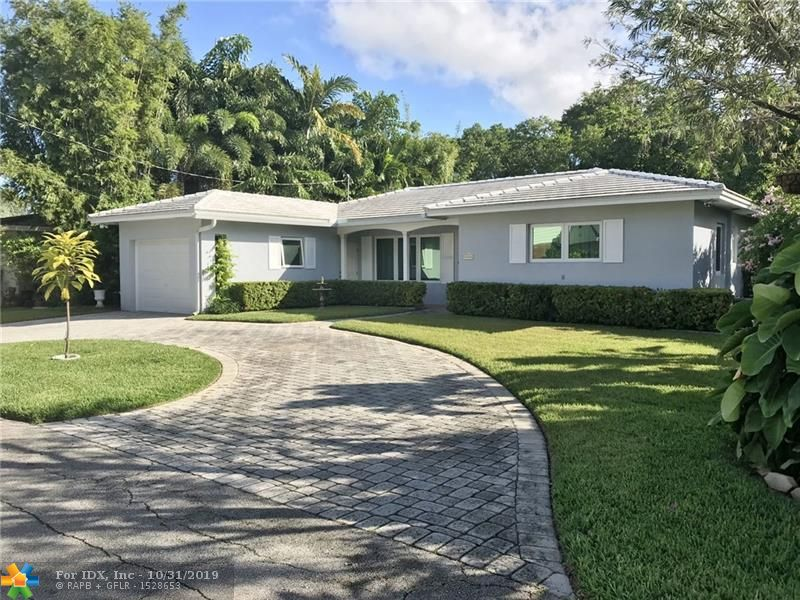 THIS IS A TRUE, CLASSIC MID-CENTURY BEAUTY. 2 BED 2 BATH WATERFRONT HOME ON EAST SIDE OF WILTON MANORS, JUST THREE SHORT BLOCKS TO WILTON DRIVE AND ALL IT HAS TO OFFER. NEW CUSTOM HURRICANE IMPACT WINDOWS, DOORS AND GARAGE DOOR. 2012 FLATTILE ROOF. 2014 CENTRAL A/C AND TANKLESS WATER HEATER. LUSH LANDSCAPING AND FRUIT TREES. 76 FEET ON CANAL. PAVER CIRCULAR DRIVE. EXTRA LARGE 1 CAR GARAGE WITH WORKSHOP. BEAUTIFULLY RESTORED TERRAZZO FLOORS. LOT S OF STORAGE AND HUMONGOUS UTILITY ROOM WITH HALF BATH. EXTREMELY QUIET NEIGHBORHOOD WITH HOMES SELLING $650,000+. KAYAKERS DREAM!