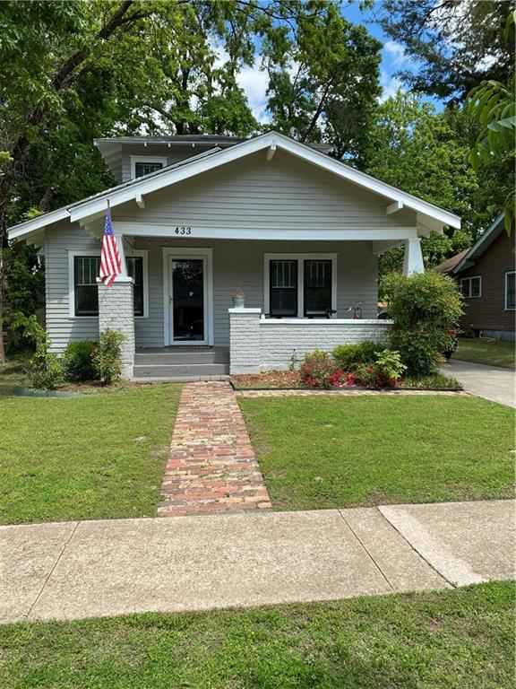 A little slice of heaven in walking distance to the OU campus! The house is located in one of the most beautiful parts of Lahoma Ave! So much character and has been very well maintained! The darling front porch is so inviting and a great spot to hang out with friends and family on game days or any evening! It does have 2 full baths and 1 1/2 bath which is a huge bonus! All of the bedrooms are good size. The one bedroom upstairs is extremely large and has a full bath and double closets! There is plenty of parking. There is a basement just to be safe in the Oklahoma weather (this square footage is not counted in home sq ft listed). The utility area is on the main living floor for more convenience. There is a wood deck in the back yard great for entertaining. Very conveniently located in close proximity to Downtown, Midway Deli, Lions Park & Campus corner! This one you do not want to miss!