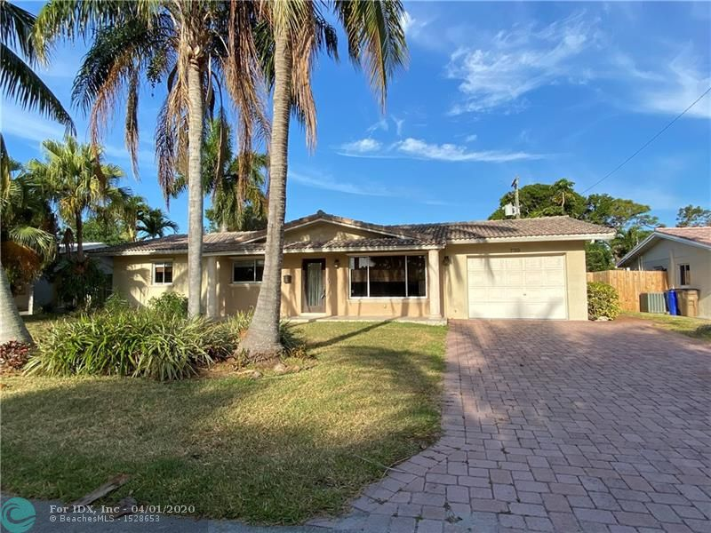 "Vacant and easy to show! Nice pool home in desirable area of ""The Cove"". This East Deerfield Beach area offers you the ability to walk/bike to the beach, fishing pier, shops, restaurants, etc. This home is located on a lovely street east of US1, it has an open floor plan, a newer kitchen, a laundry room, 1 car garage and a barrel tile roof. NO HOA so your pets are welcome. The large fenced yard has room for RV/trailer, Boat. Please review Broker Remarks below."