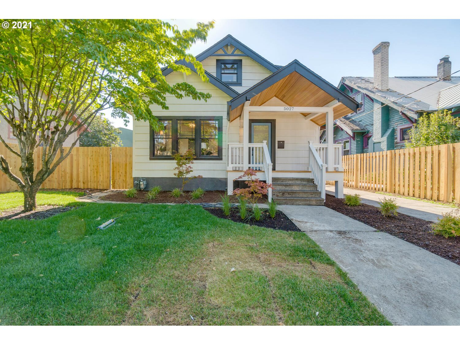 Renovated and revived! This stunning craftsman located in the desirable Alberta Arts District has been tastefully & thoughtfully brought back to life. This home features 3 beds, 2 baths, tall ceilings, hardwoods, stainless steel appliances, second-level primary suite, and a spacious backyard w new garage. A walkers and bikers dream and near local hotspots on Alberta St, award-winning restaurants, popular shops & public transit.