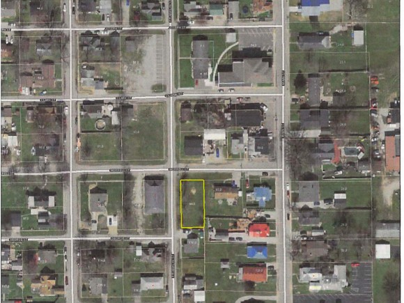 Nice build-able lot in town.  Zoned R-2.  City water and sewer on property.  2 storm drains.  Great investment property.  Could build a single family or 2 family.  Quiet end of town.  1 block off Main St.