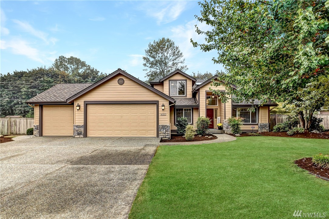 Don't miss the chance to live in this beautiful home in the desirable Swiftwater development. 3 large bedrooms, a large flex room easily makes a bedroom, bottom floor office, plus an adorable loft room with HUGE storage area. Open concept kitchen, new carpets, Large private half acre lot that backs to walking trails on a quiet dead end street, garden shed, AC, newer roof, fenced dog area and much more. Great central location and plenty of room for staying home! Enjoy all Carnation has to offer!