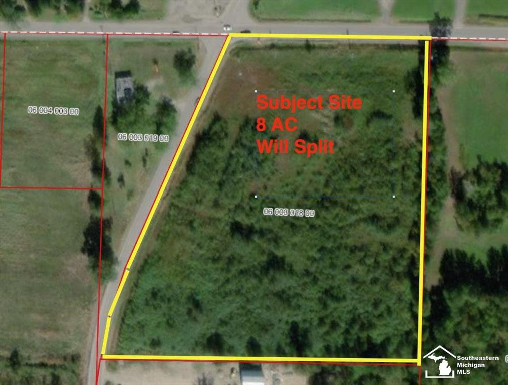 8 acres zoned C-1 ideally suited for general store, gas station, convince store, or shopping center. Split is welcome. Exeter Township. West off exit 8 of I-275.