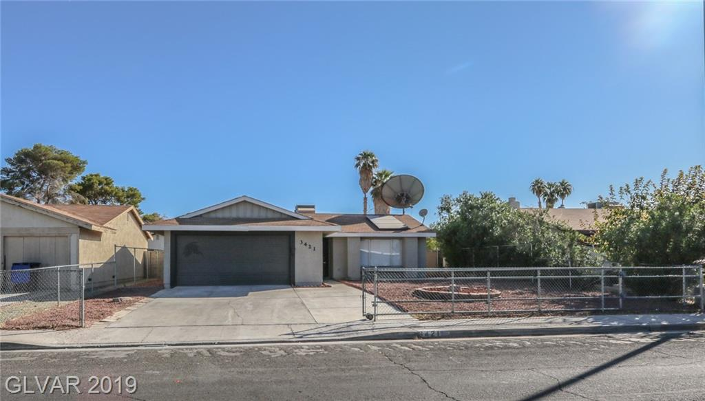3421 WRIGHT Avenue, North Las Vegas, NV 89030