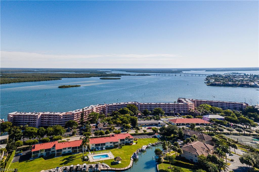 "*Boaters/Anglers/Investors: WATER DIRECT Gem in Old Marco can be found @ This Gated Complex On Marco River In Unit C-508 @ Riverside Club! Enter This 1 Bd/1Ba Condo to Be Charmed w its Welcoming Feeling & PHENOMENAL Water VIEWS! 5th Flr ELEVATION, on ""WATER DIRECT"" RIVER, in this Mid-Rise Boasts Breath-Taking Long/Wide Water Views To Jolley Bridge & N To Hammock Bay/Naples. E Exposure offers Glorious Morning Sun Rises!  Watch Dolphins Play, Birds Fish & Incredible Boat Activity since Riverside has an On Site Marina w Boat Slips for Lease @ $200/Yr + A Locked Boat Yard for Dry Storage! Island Lifestyle is all-inclusive here: Pools, Spas, Tennis, Shuffleboard, Common Dock, Fishing Pier, Pickleball, BBQ & More! Daily Rental Policy is An Investor's Dream! AFFORDABLE $622/month Maintenance Fee INCLUDES:  Water, Electricity, Cable, Internet/WiFi, Pest Control & More! PANORAMIC WATER Views from Eat-In Kitchen, Comfortable Living/Dining Area & Tiled/Screened Lanai Are ENCHANTING!  Bike Rentals, Restaurants & Rose Marina where The Princess & Key West Express Launch & where you can rent A Boat Are Foot Steps Away! Turnkey Furnishings + Washer/Dryer Complete this Retreat/Investment On Marco!*"