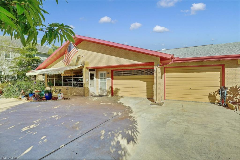 INVESTOR ALERT! FABOULOUS ONCE IN A LIFETIME OPPORTUNITY ON VANDERBILT DRIVE!!!!!  Never before has a duplex, with this location, and unreal 108x168 LOT size been offered In Naples Park.  Units have both front and rear lanais, an abundance of closets for storage, cathedral ceilings and their own laundry facilities.  Outbuilding in backyard is 182 SF and features its own bathroom. Use as is, or build your new mini mansion on this wonderful lot.  With a 2 or 3  story new home you can easily garner a view of the bay, and the glistening waterways of Vanderbilt Beach.  With so many possibilities, your imagination can run wild!!!