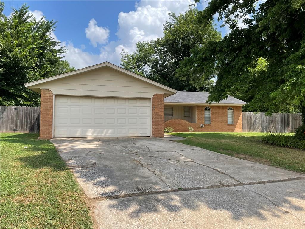 Freshly painted 3 bedroom 2 bathroom home less than one mile from OU campus.  Located on a quiet cul-de-sac with large beautiful trees.  Come see this property before it's gone.
