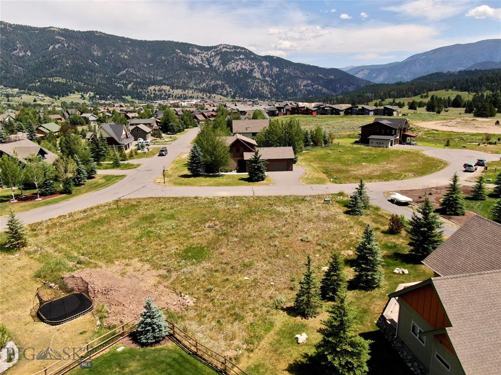 Prime South Fork Phase 4 lot in Big Sky! This 13,669 sq. ft. lot has great views of Yellow Mountain, and lots of sunshine . Located on the corner of the Whitebark Pine cul-de-sac and Rainbow Trout Run, it's within walking distance to Town Center and at the cross roads to Big Sky and Y/C. This is the last developer lot in South Fork and has never been on the market before. Listing agent is an owner and is related to the other owners.
