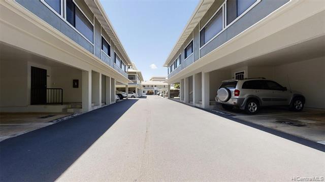 """Rarely available split level townhome just minutes to downtown and Chinatown. Move-in condition, large (1,184sf) 2/2.5 with 2 parking stalls (1 covered 1 open) Serene gated complex with 2 guest parking stalls. Upgraded heat resistant, hurricane rated windows. Newly installed, July 2018, split-system air conditioning units.  Maintenance Fee includes water, sewer and trash. Pet friendly (per house rules)... Good condition but sold """"AS IS""""....Well-maintained building complex, with roof, painting, fencing, pavement,  all done recently. Cleaning and maintenance to windows and gutters are scheduled without additional special assessment cost to owners. This is townhouse living at its very best and the very best kept secret in town."""
