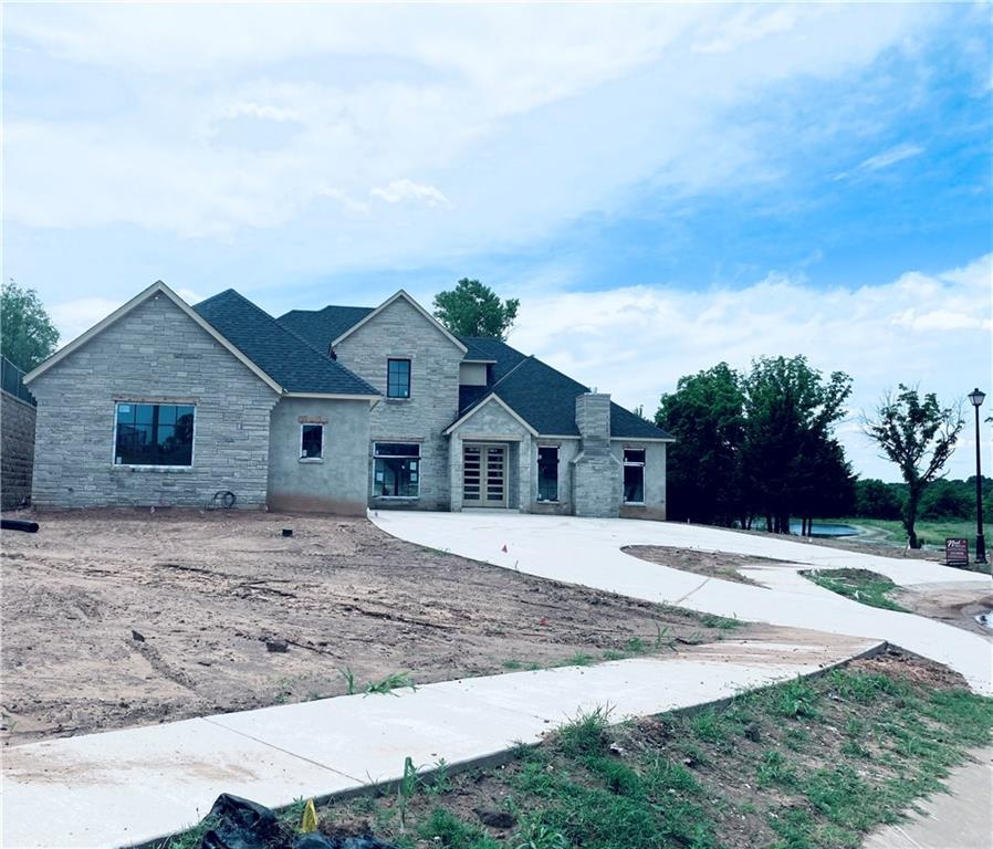 New construction in Oakdale Schools! Modern Design featuring 5 bedrooms, 3.5 baths, oversized 3 car garage on greenbelt, waterfront, cul de sac lot. Estimated Completion March 2020. Edmond Memorial High School