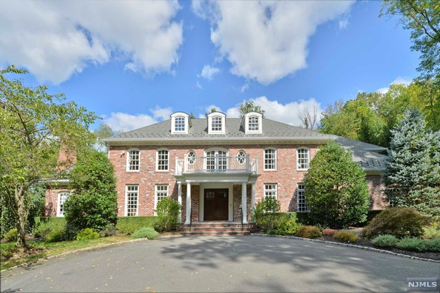Stately Colonial, Saddle River, NJ 07458