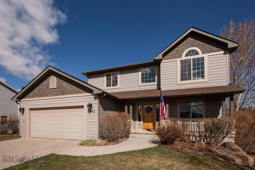 LOCATION, LOCATION, LOCATION.    This recently updated home is only minutes from Bozeman Deaconess and MSU!  Just steps from the back yard and you are on Bozeman's expansive trail network.   All of the bathrooms were recently updated with granite, tile and/or other hard surface counters.   Open floor space includes the kitchen, dining area and family room with a gas fireplace and step out onto the back deck for great views of open space and the Bridgers.   First floor also offers a dining room and study/piano room.  New and/or refinished hardwood floors and a beautiful new oak staircase that invites you to the upper level and four bedrooms.