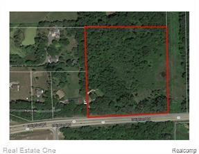 Great opportunity in Howell!  The site is zoned residential/agricultural.  Partially wooded and possible walk out sites are visible.  Property is in a fabulous location close to Howell, freeways, shopping, parks and recreation areas.  All information is approximate ad is subject to perk and split.  Contact the township with any zoning questions.